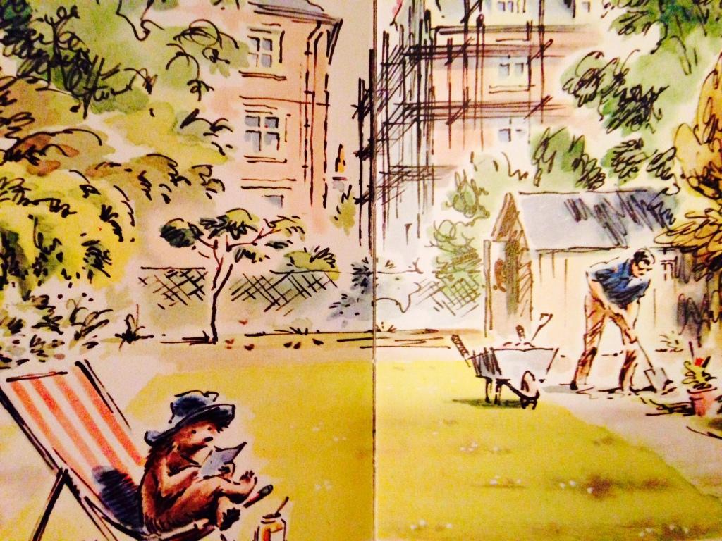 Paddington's Garden