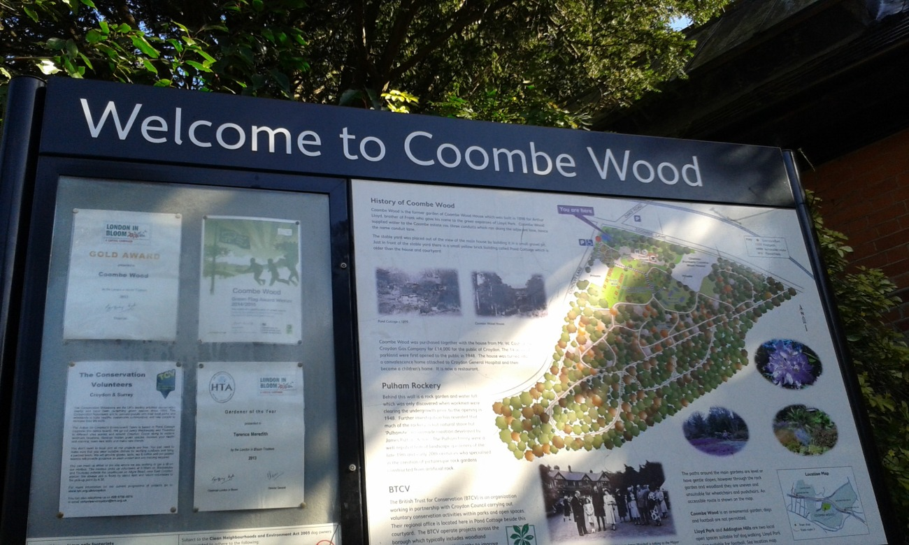 Coombe Wood, Dad Without A Map