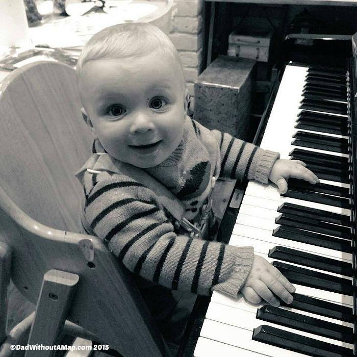 B & piano