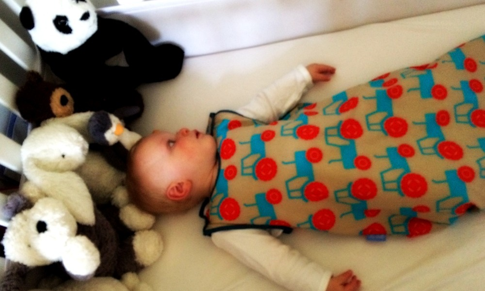 Baby in Grobag