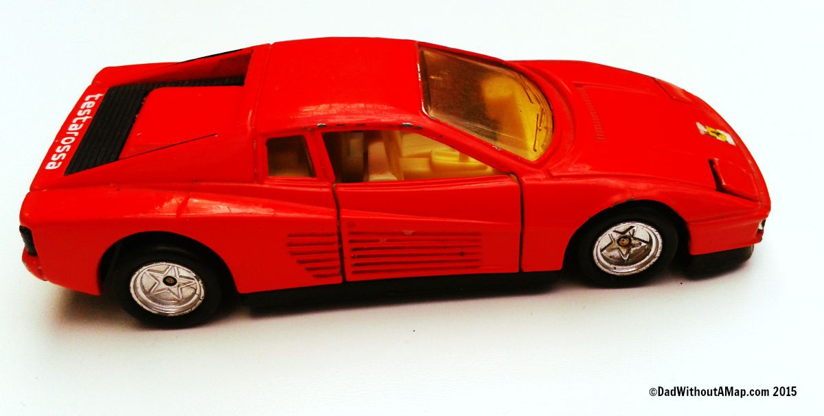 Toy ferrari car