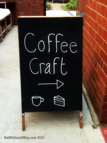 Coffee Craft sign