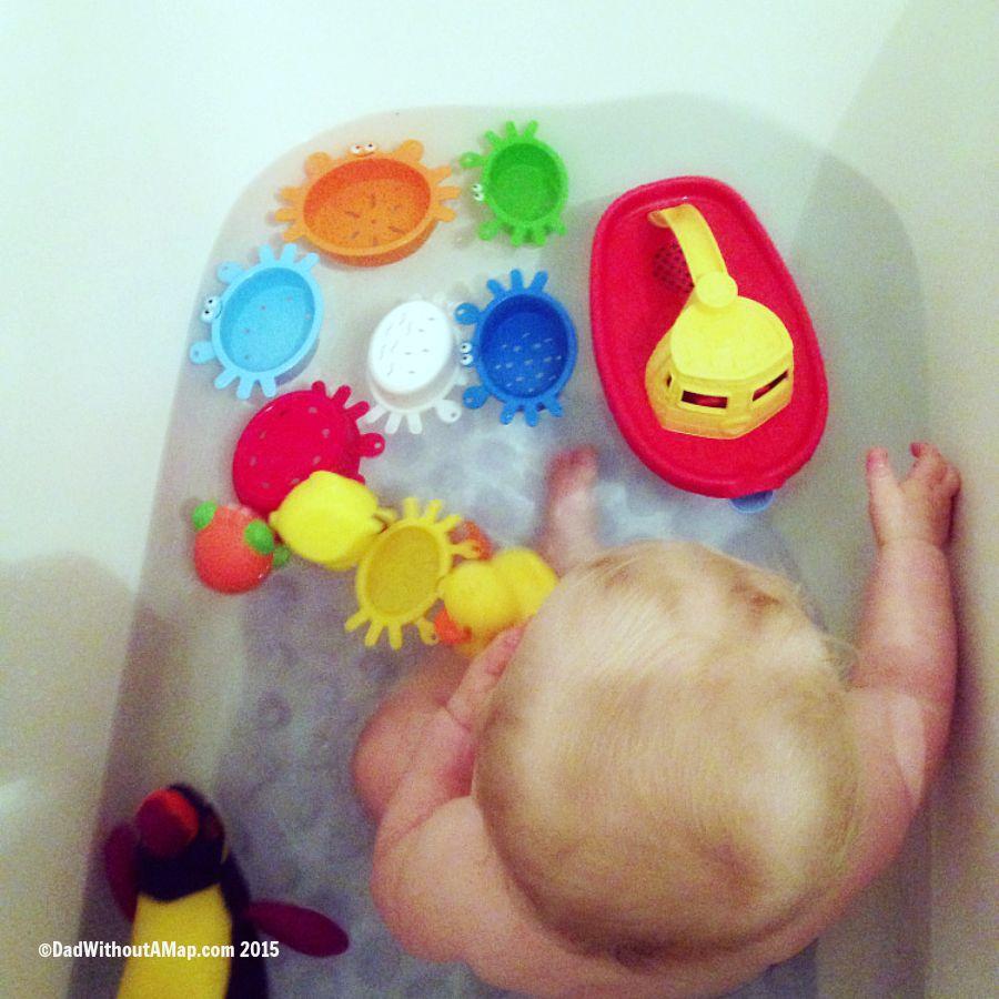 B in bath