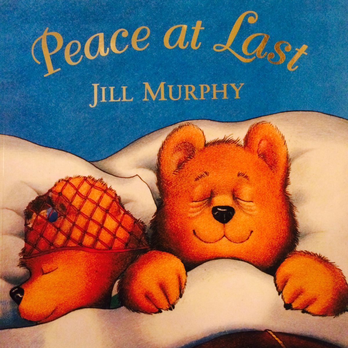 Peace at Last book cover