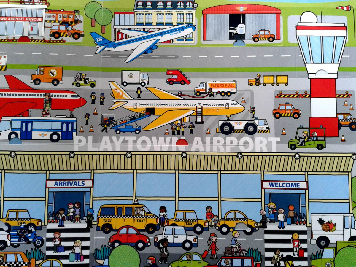 Playtown Airport inside image