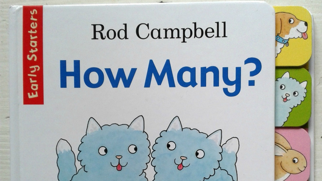 How Many? by Rod Campbell front cover
