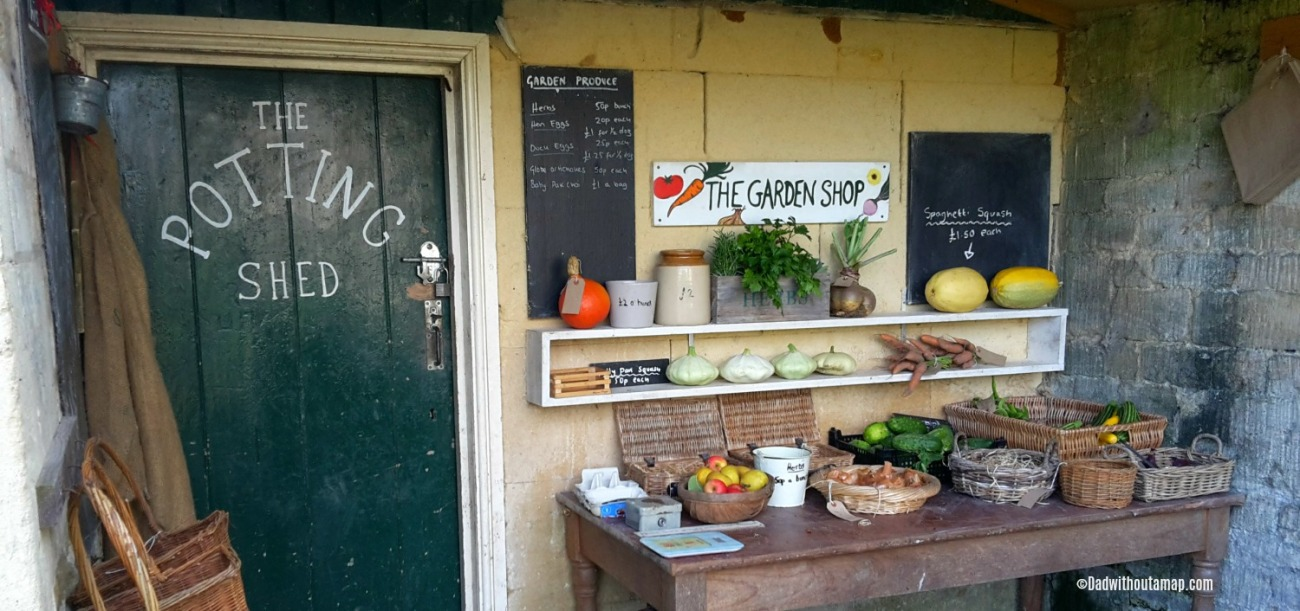 Potting shed at Woolley Grange